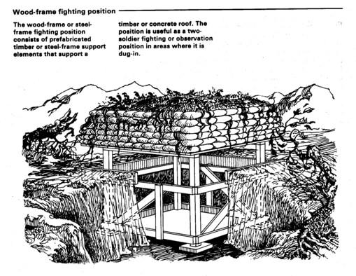 A bunker.