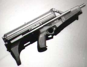 Calico 9mm helical-fed carbine