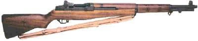 The Garand M1 Rifle -- The weapon that won WWII.  Still handy in WWIII.
