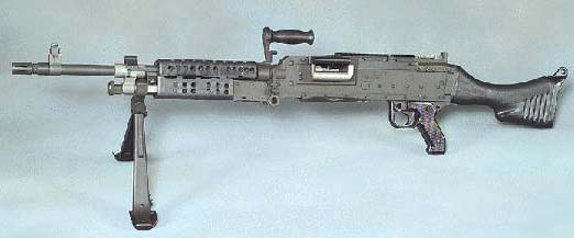 M240-G, the replacement for the M60. <BR> Supply never met demand in WWIII, however.