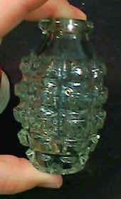 WWII glass grenade
